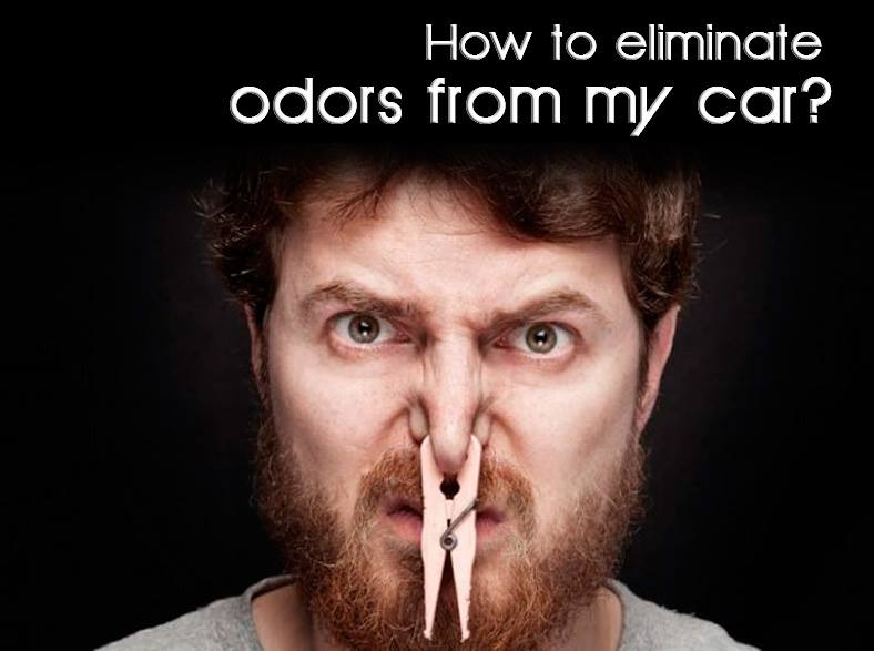 How to Eliminate car odors