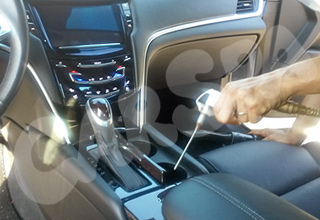 Mobile detailing services car interior clean vehicle
